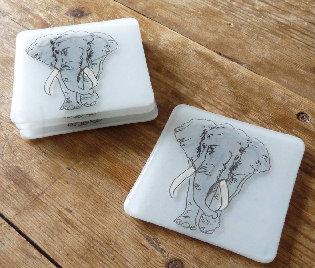 Bespoke Elephant Coasters